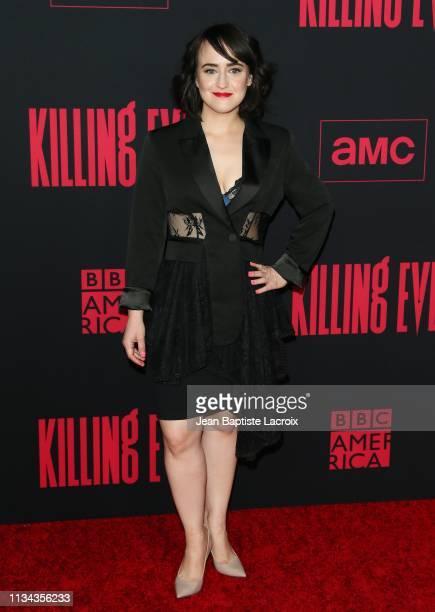 "Mara Wilson attends the Premiere of BBC America and AMC's ""Killing Eve"" Season 2 on April 01, 2019 in Los Angeles, California."