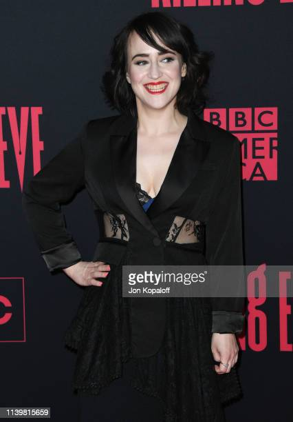 """Mara Wilson attends the premiere of BBC America And AMC's """"Killing Eve"""" Season 2 at ArcLight Hollywood on April 01, 2019 in Hollywood, California."""