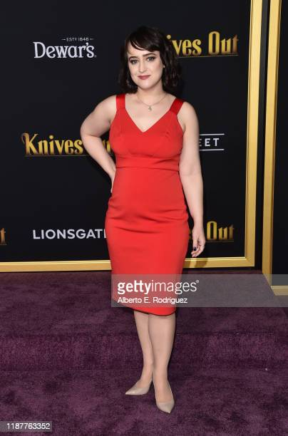 "Mara Wilson attends the premiere of Lionsgate's ""Knives Out"" at Regency Village Theatre on November 14, 2019 in Westwood, California."