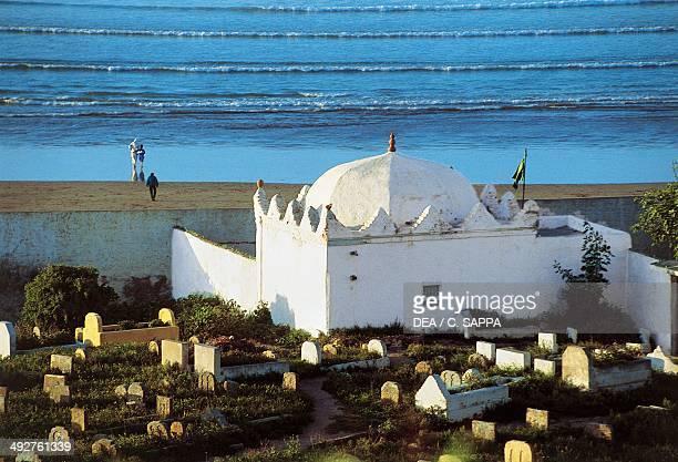 Marabout at the Kasbah des Oudayas Rabat Morocco