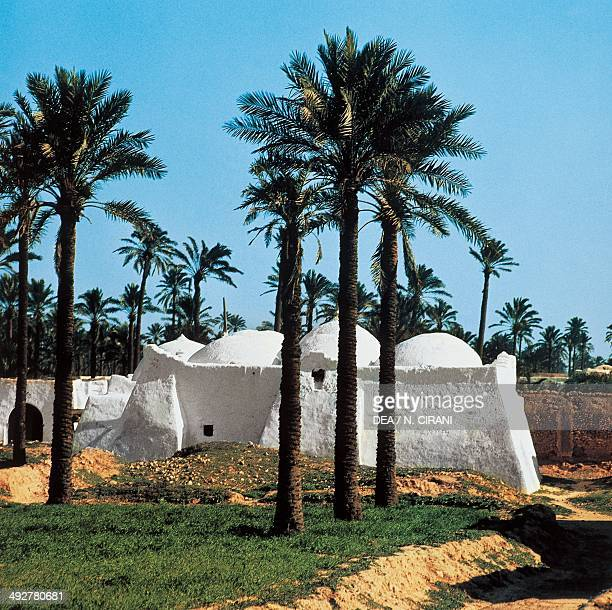 Marabout in an oasis near Misrata, Gulf of Sidra, Libya.