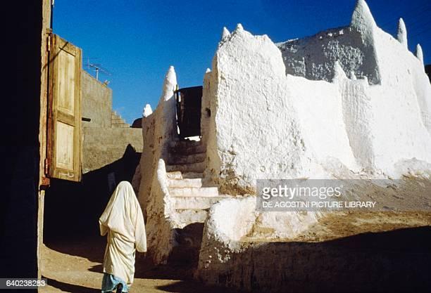 Marabout tomb, El Golea, Sahara Desert, Algeria.