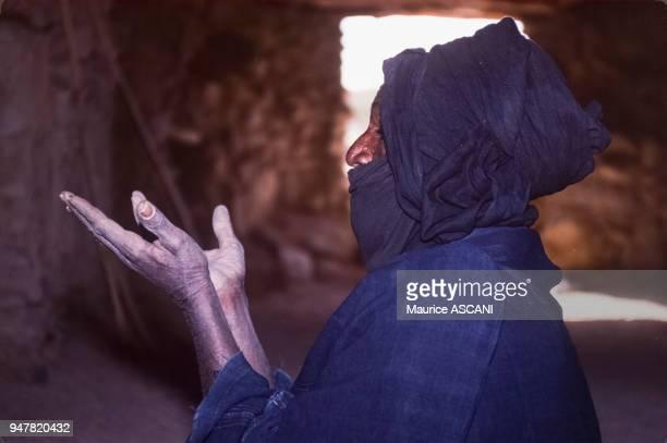 Marabout Touareg dans une mosquée au Niger.