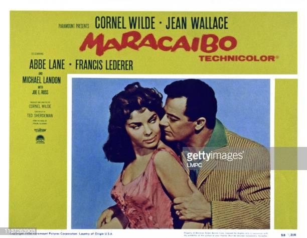 Abbe Lane Cornel Wilde 1958