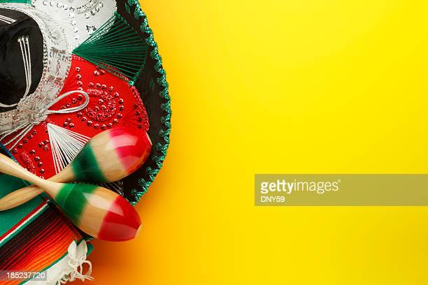 Maracas and Sombrero