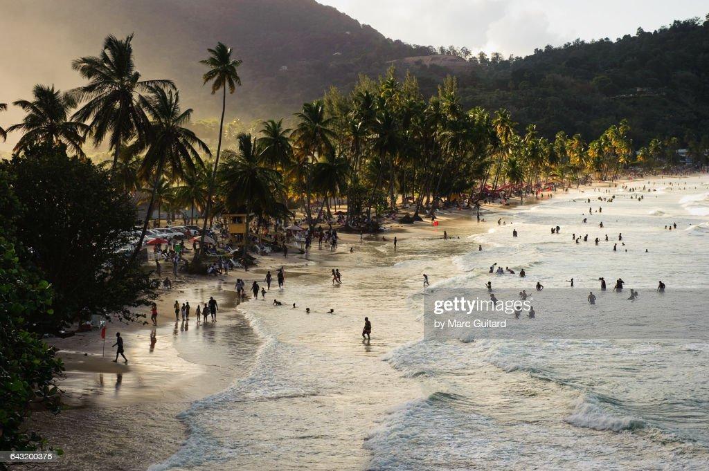Maracas Beach, Trinidad,  Trinidad & Tobago : Stock Photo