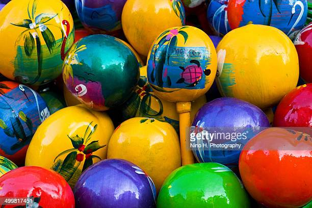 maracas from mexico - maraca stock photos and pictures