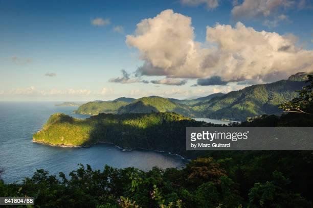 maracas lookout, trinidad, trinidad & tobago - trinidad and tobago stock pictures, royalty-free photos & images