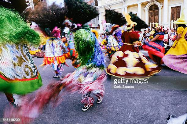 maracatu rural - carnaval 2015 - brazilian carnival stock pictures, royalty-free photos & images