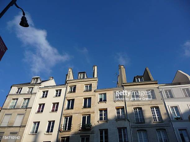 Marais Neighborhood in Paris