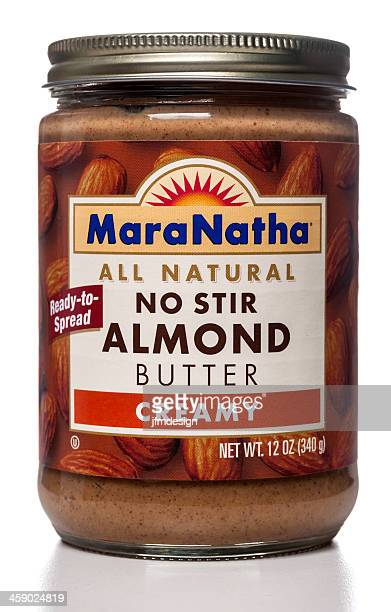 Maranatha No Stir Almond Butter Creamy spread jar