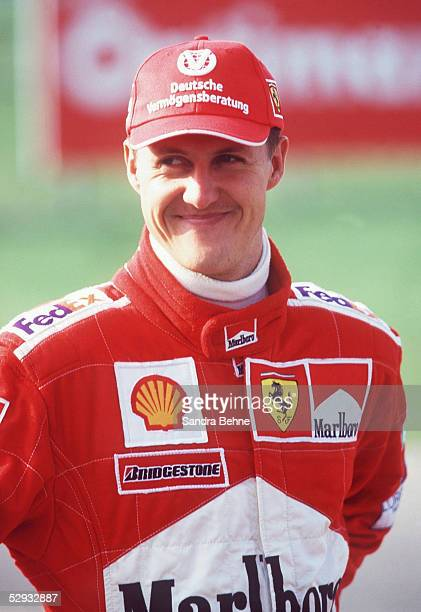SHELL OPTIMAX KRAFTSTOFFTEST Maranello Michael SCHUMACHER /FERRARI