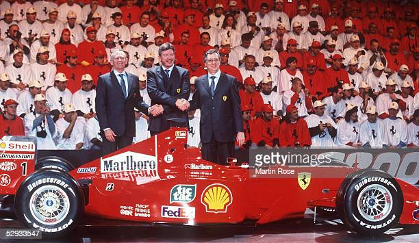 Rory BYRNE Ross BRAWN Paolo MARTINELLI