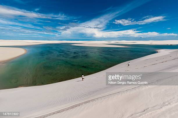 maranhenses national park - maranhao state stock pictures, royalty-free photos & images