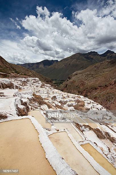 maras salt pools - joshua alan davis stock pictures, royalty-free photos & images