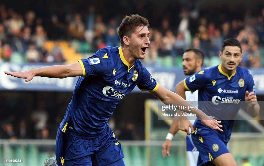 Hellas Verona v UC Sampdoria - Serie A : News Photo