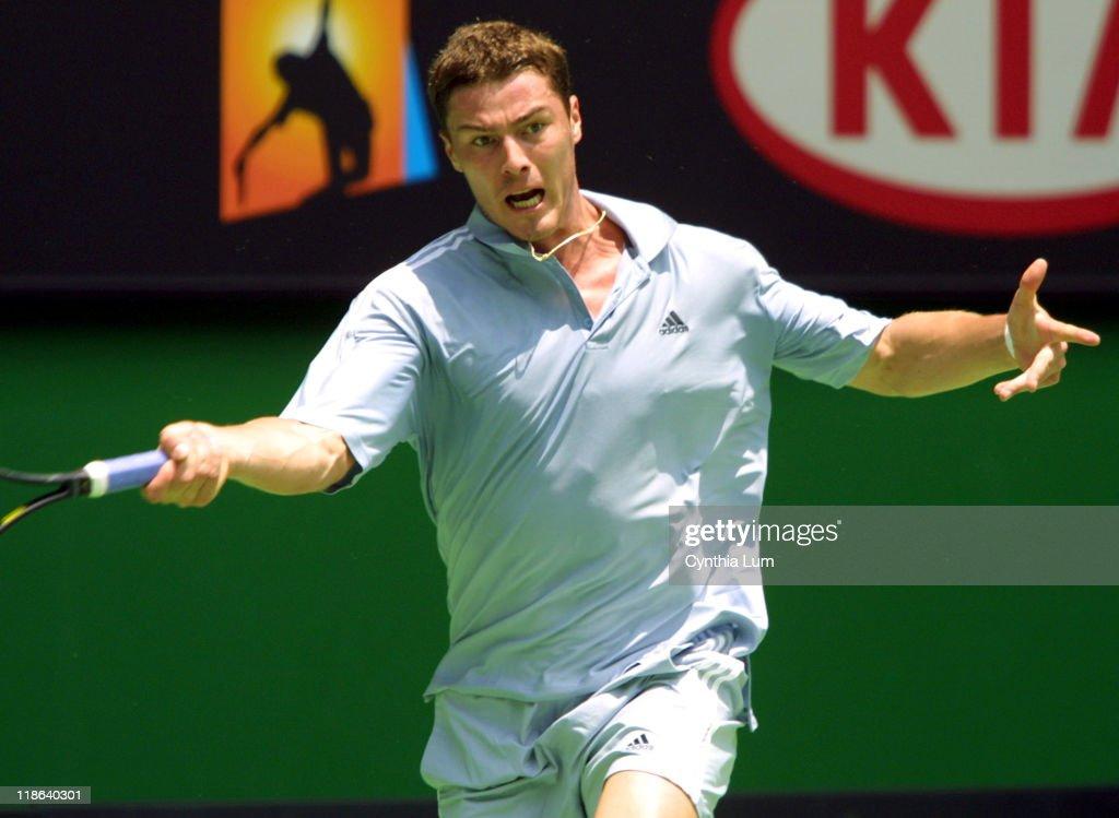 2003 Australian Open - Men's Singles - Second Round - Marat Safin vs. Albert