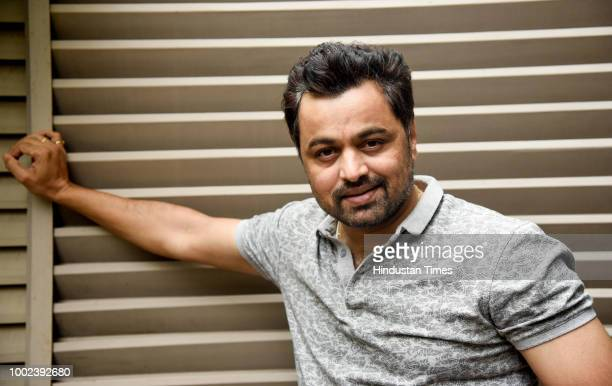 Marathi actor and director Subodh Bhave poses during an exclusive interview Hindustan Times on July 18 2018 in Pune India