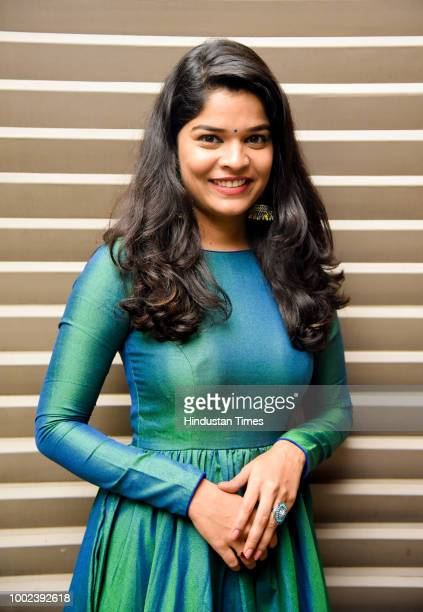 Marathi actor Gauri Kiran poses during an exclusive interview Hindustan Times on July 18 2018 in Pune India