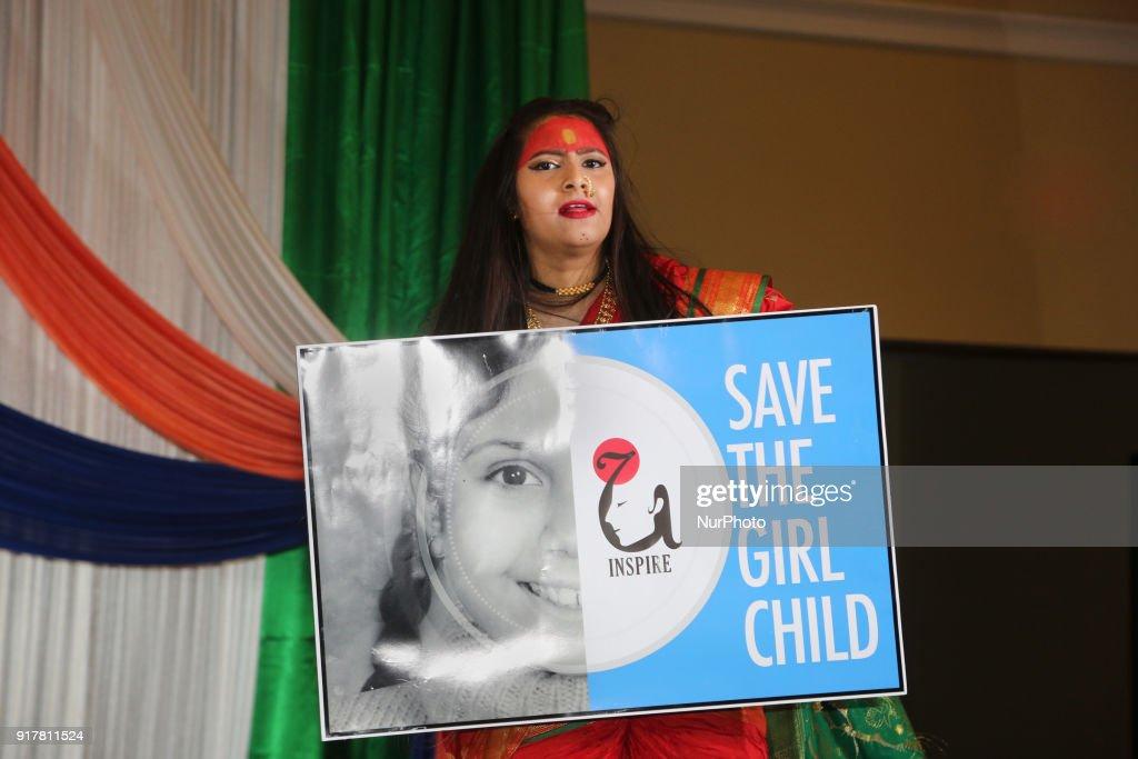 Marathi women protest against female infanticide in India : News Photo