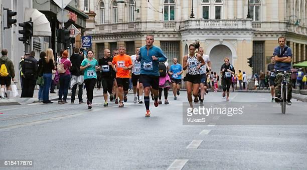 Marathon on the streets