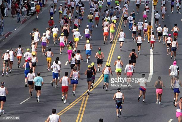sprc985 marathon - marathon stock pictures, royalty-free photos & images