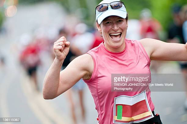 marathon - headwear stock pictures, royalty-free photos & images