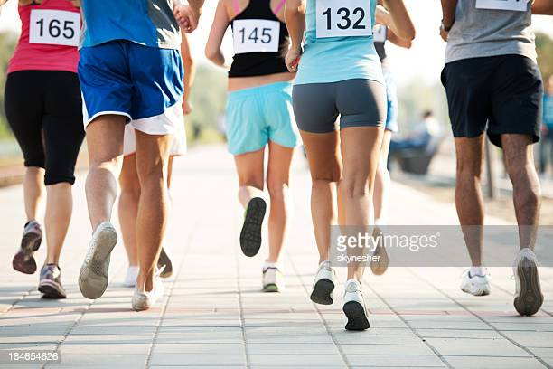marathon. - 5000 meter stock pictures, royalty-free photos & images