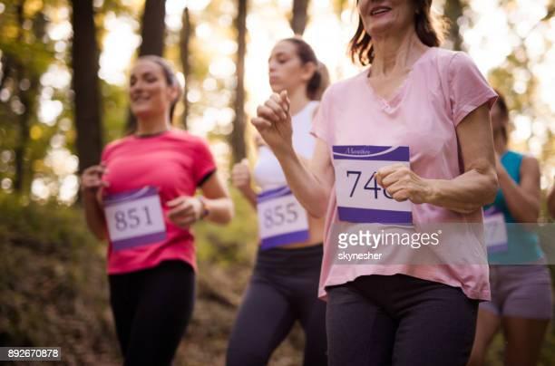 Marathon race in nature!