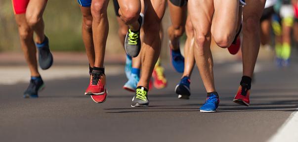 Marathon running race 1154419078