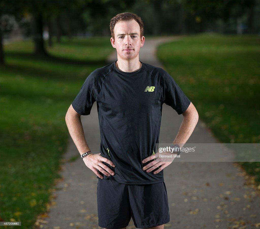 Marathoner Reid Coolsaet... : News Photo