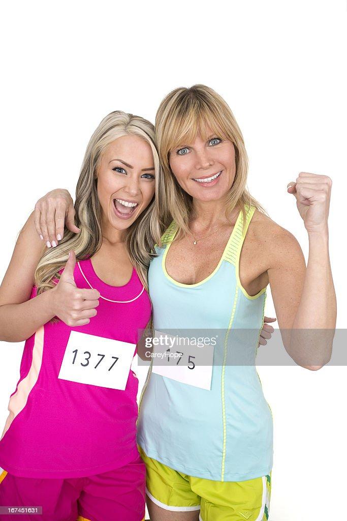 marathoners : Stock Photo