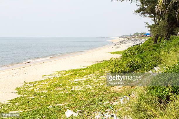 maravanthe beach, karnataka, india - karnataka stock pictures, royalty-free photos & images