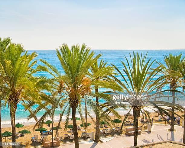 Marbella, Beach, Costa del Sol, Spain