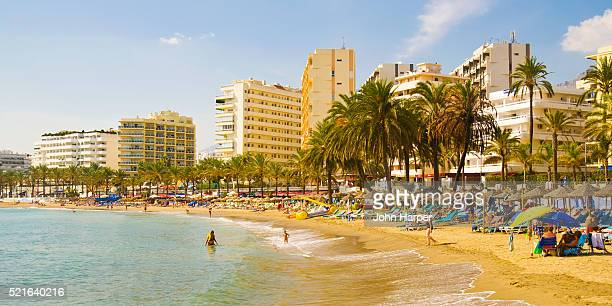 Marbella Beach on the Costa del Sol in Spain