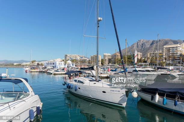 Marbella, Costa del Sol, Malaga Province, Andalusia, southern Spain, Puerto Deportivo on Marbella town's waterfront, Sports Port.