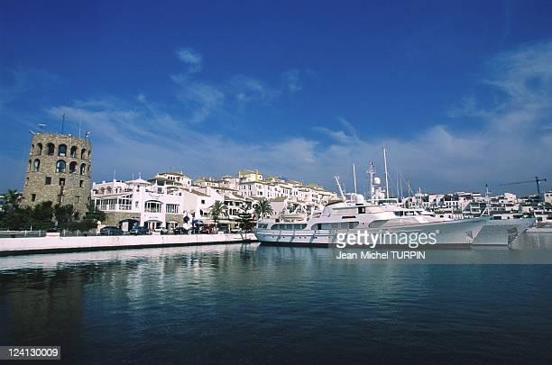 Marbella, Spain In June, 2000 - Porto Banus.