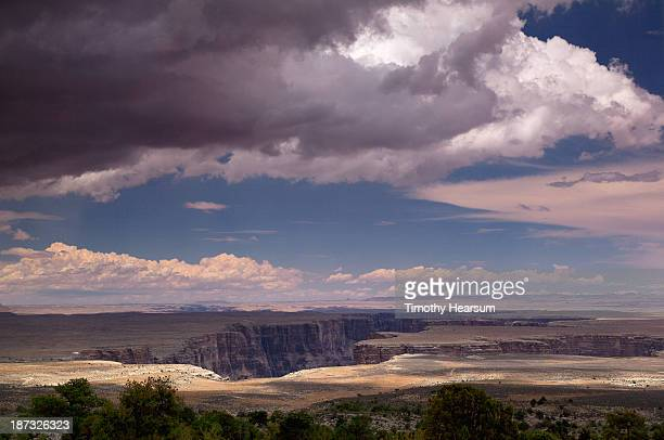 Marble Canyon with sky beyond
