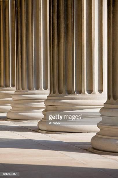 Marble Columns Vertical