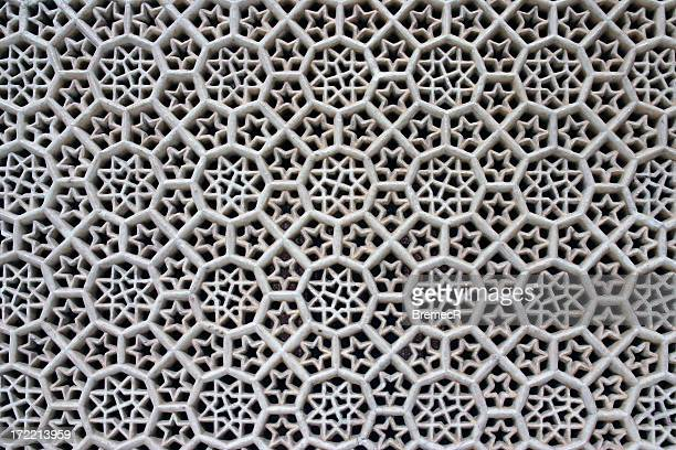 marble lattice - fatehpur sikri stock pictures, royalty-free photos & images