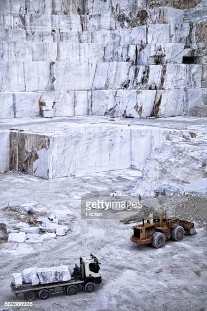 Marble Quarry - Carrara. Italy