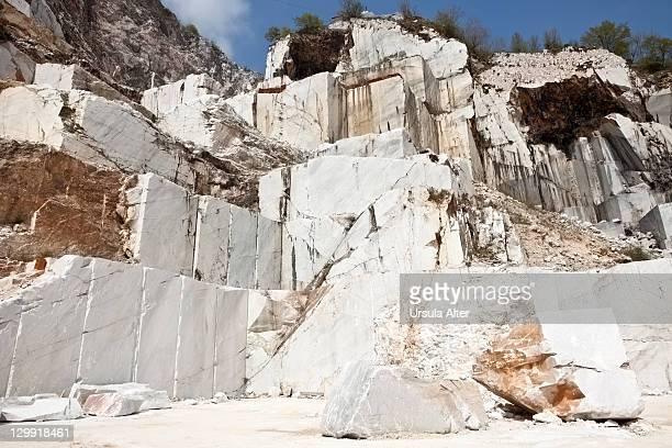 marble quarry in Carrara, Italy
