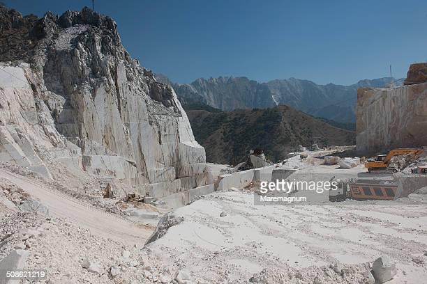 Marble quarry near Colonnata