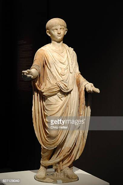 Marble statue circa 50 AD from Rome