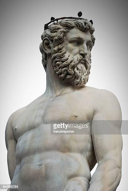 Marble Statue portrait of Nettuno