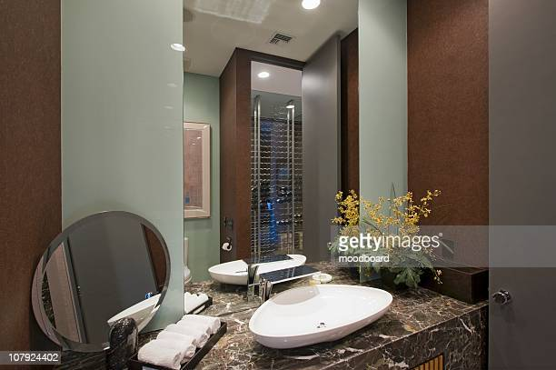 Oval Mirror Stock Pictures Royalty