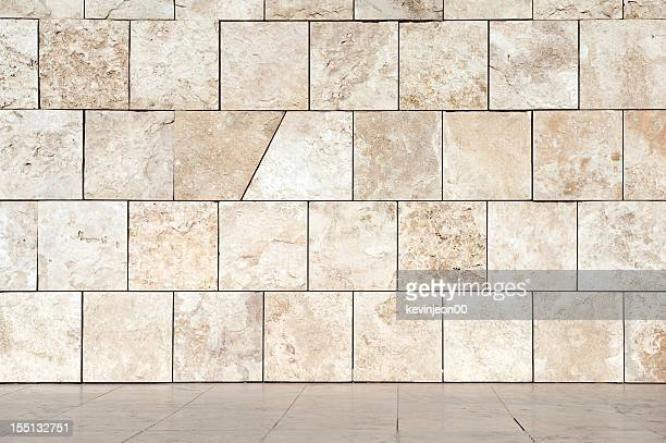 Marble wall and floor