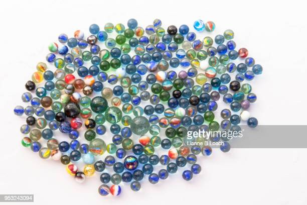 marbles - lianne loach stock pictures, royalty-free photos & images