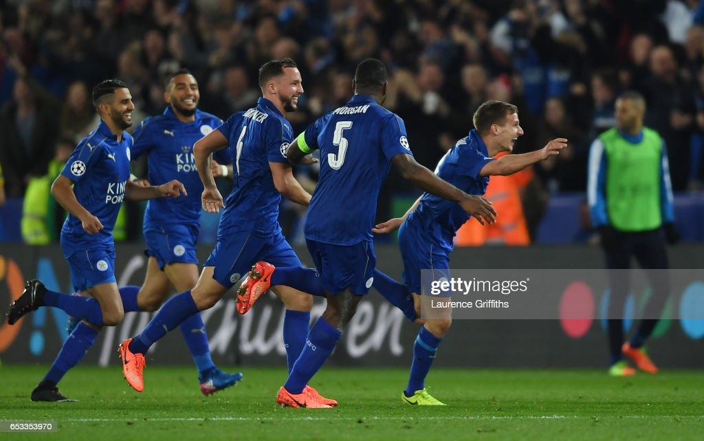 Leicester City v Sevilla FC - UEFA Champions League Round of 16: Second Leg : News Photo
