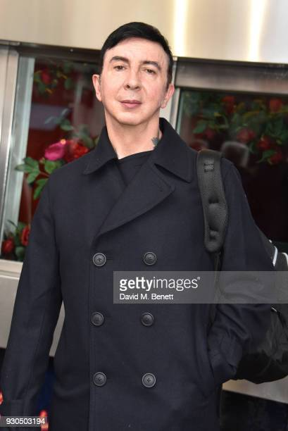 Marc Almond attends the press matinee after party for Brief Encounter at The Haymarket Hotel on March 11 2018 in London England